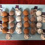 Holiday Honey Rum Balls