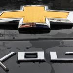 Chevy Volt Rear Logo